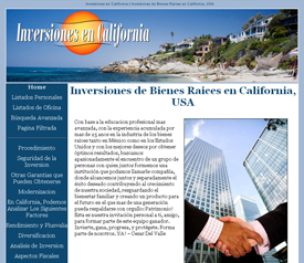 Inversiones en California