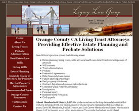 Orange County Living and Trust Probate